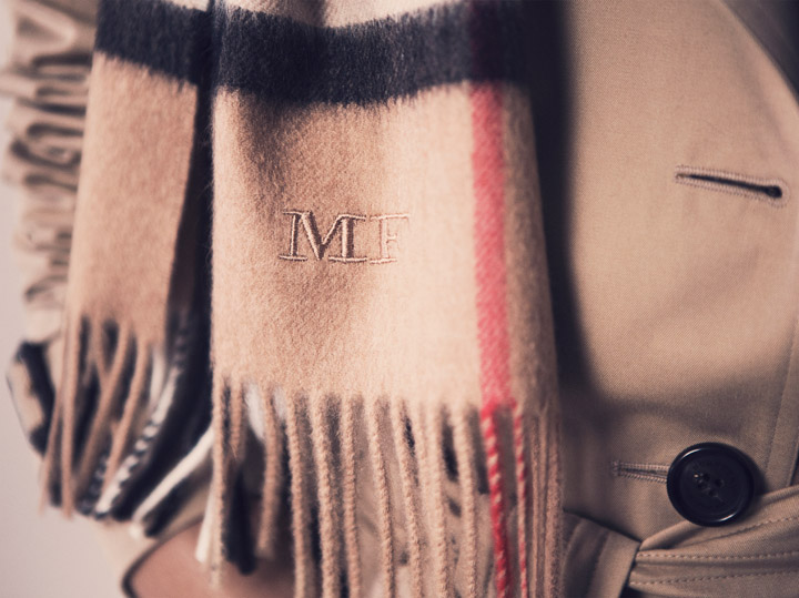 Burberry's latest customization project lets consumers get their own personal runway look