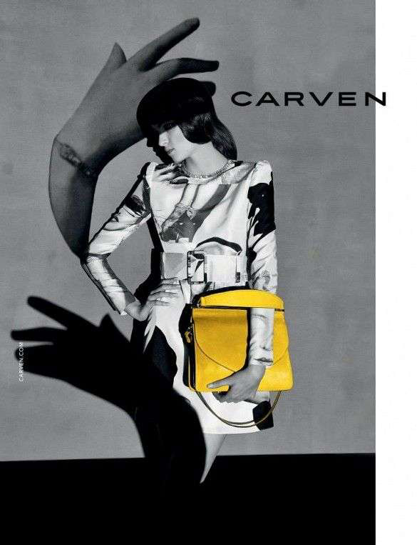 Wednesday Mess-age : Amazing ad campaign from Carven