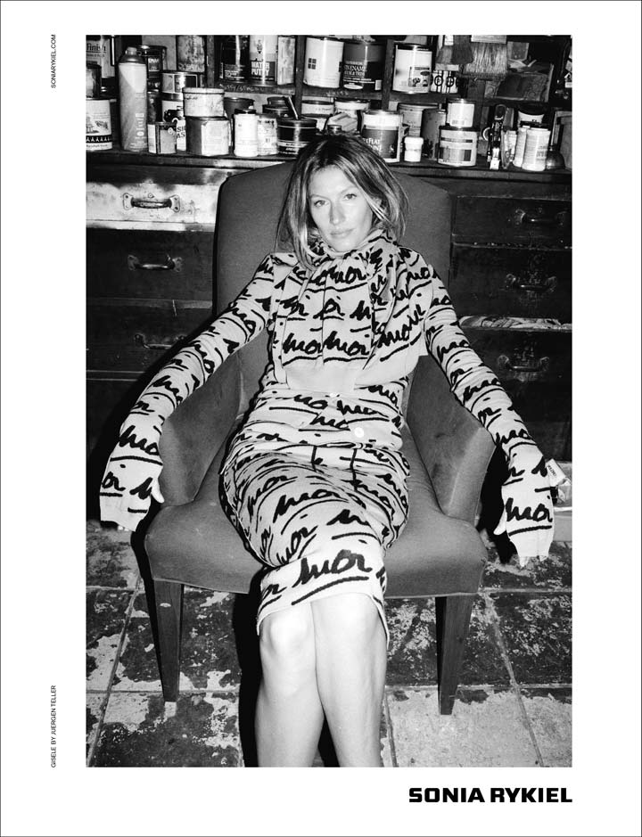 Gisele stars in retro-tinged Sonia Rykiel fall/winter campaign