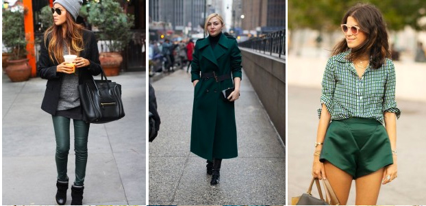 Trend Alert from Style by Asia :  Forest Green Colour in your closet !