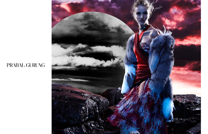 Rosie Huntington-Whiteley revealed as the star of Prabal Gurung campaign