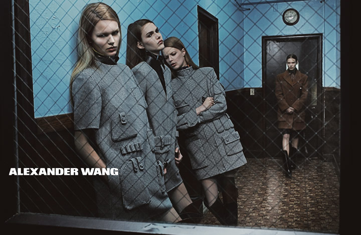 Alexander Wang goes to Brooklyn for Fall/Winter 2014/15 campaign