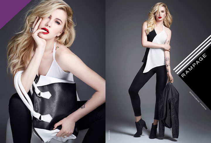 Ireland Baldwin stars in Rampage Fall/Winter 2014/15 campaign