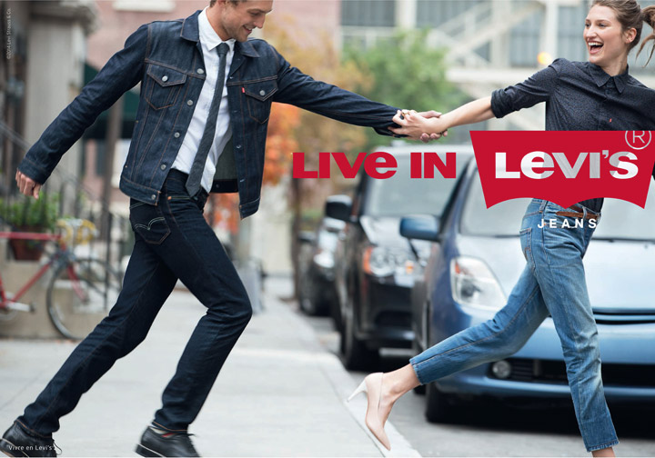 'Live in Levi's' campaign anchored in everyday life