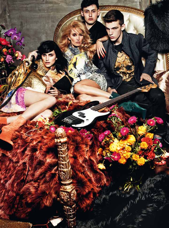 A musical scene for Just Cavalli Fall/Winter 2014 campaign