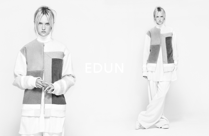 Edun goes black and white for Fall/Winter 2014 campaign