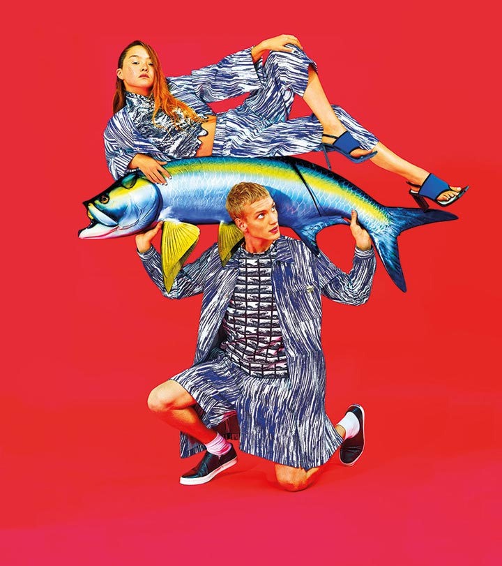 Mess-y Friday : Kenzo is going surrealistic in their new campaign !