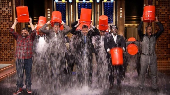 Wednesday  Mess-age : The Best ALS Ice Bucket Challenges