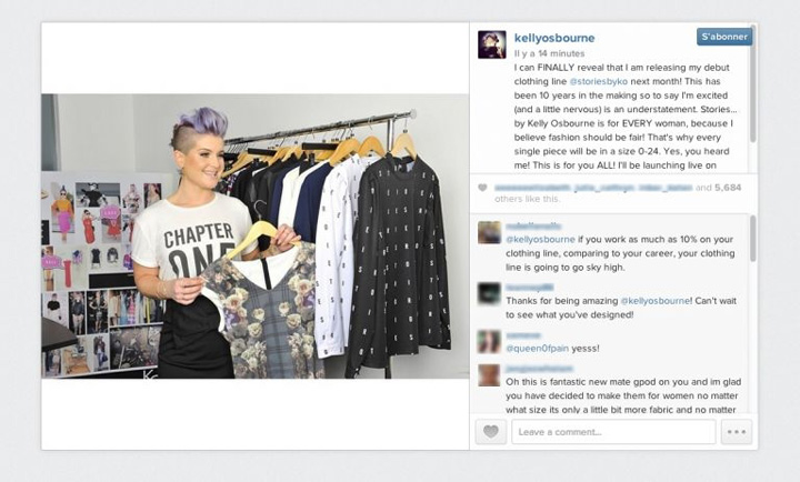 Kelly Osbourne's first clothing collection to launch on HSN
