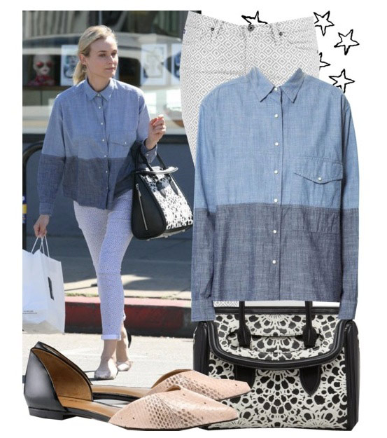 Get the look: Diane Kruger