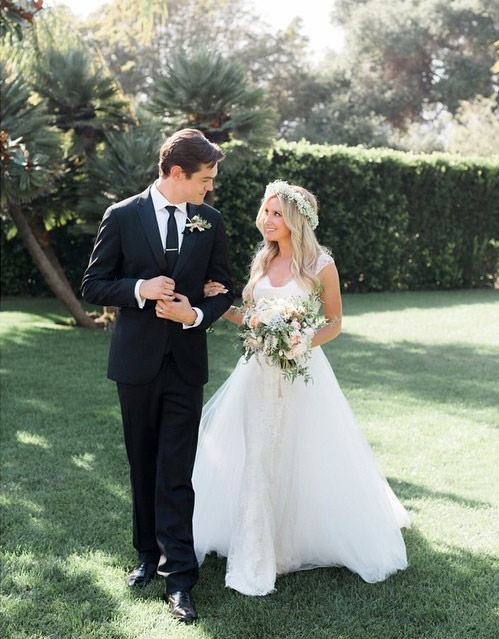 Ashley Tisdale Just Married Christopher French: See the First Wedding Picture!