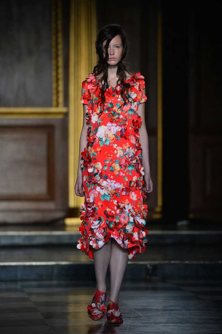 LFW: spring blossoms at Simone Rocha