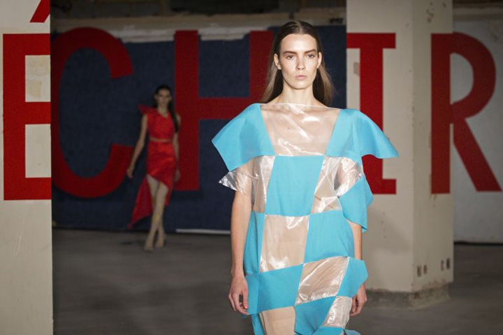Paris Modes TV's Natalia Grgona on LFW: 'Tulle, muslin, lace - sheer effects are everywhere'