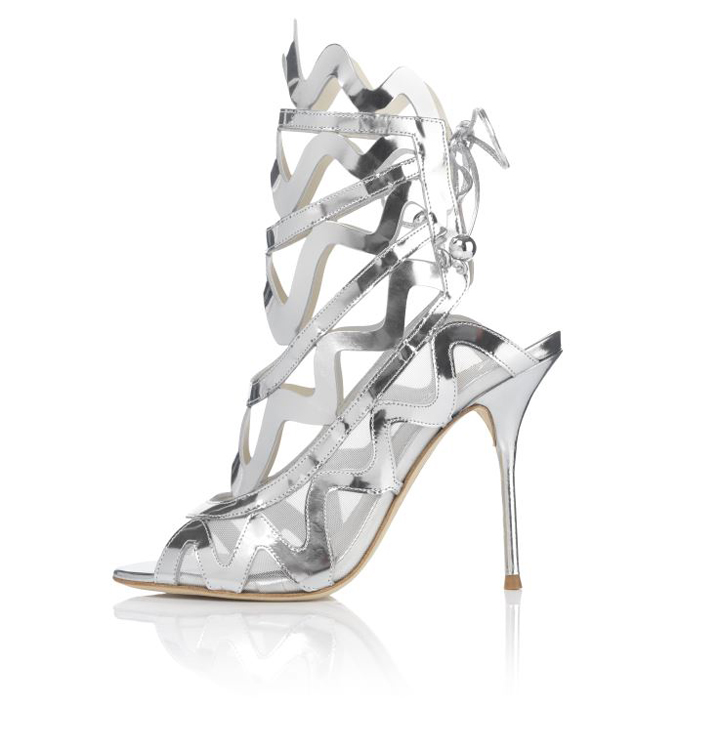 Harrods launches Silver Lining shoe collection
