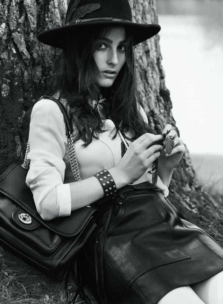 Coach unveils second Fall/Winter 2014 campaign
