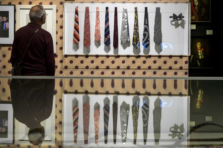 Eyes on the ties: from power symbol to fashion statement