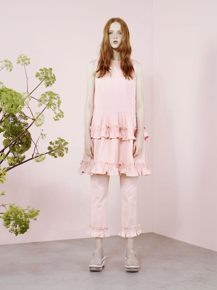 Simone Rocha for J Brand puts a casual twist on ruffles