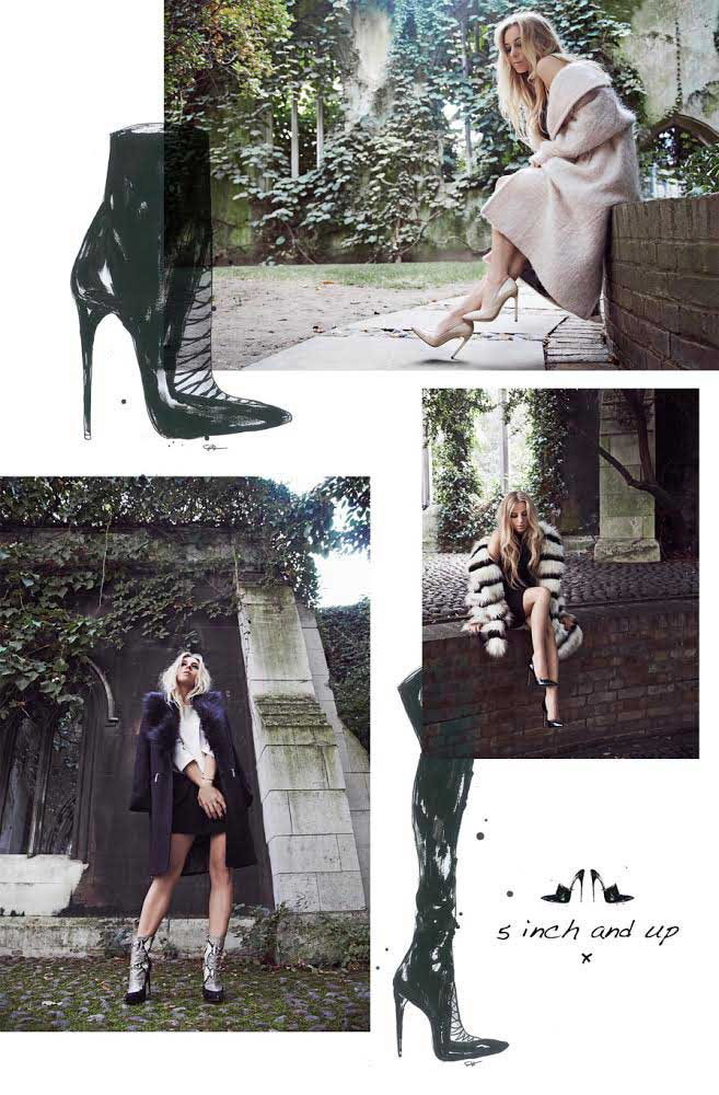 In the shoes of 5inchandup, the famous blogger who collaborates with River Island