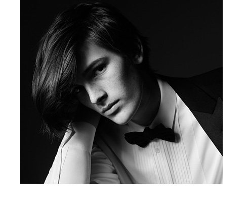 See Dylan Brosnan in Saint Laurent classics for Slimane-shot ads