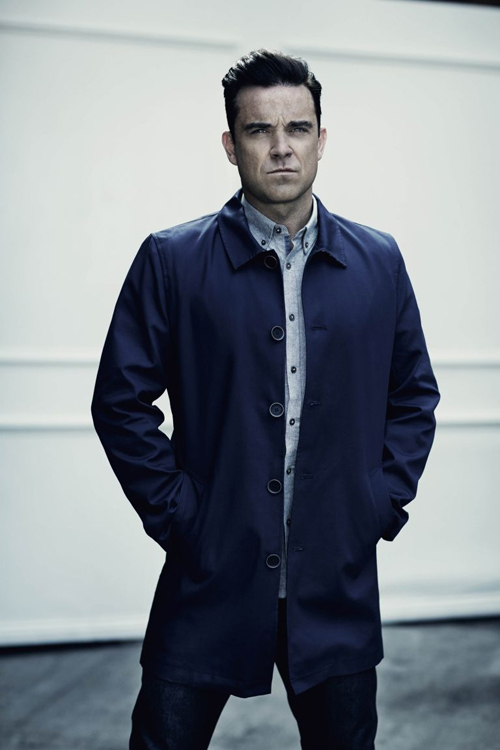 Singer Robbie Williams launches clothes collection