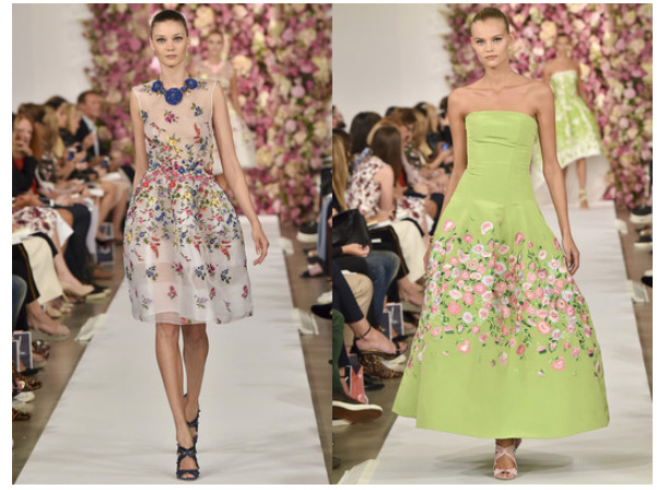 Trend Report: Florals Get an Update for Spring 2015