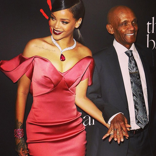 Rihanna Hosts First Annual Diamond Ball
