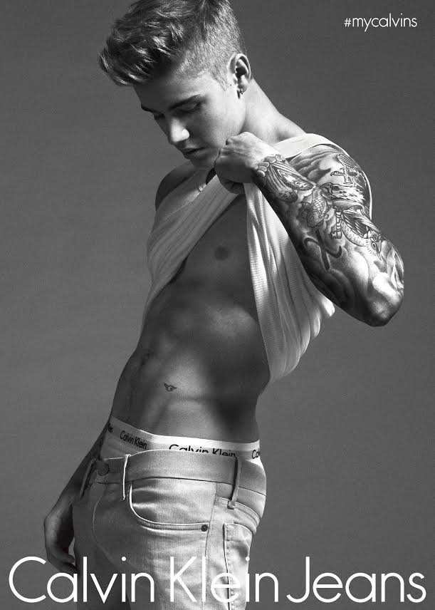 Justin Bieber and Lara Stone Star in Calvin Klein's New Spring Campaign