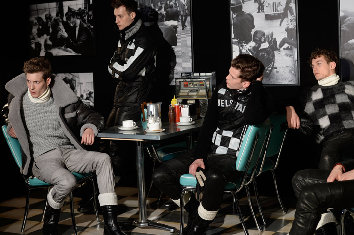The 'Ton-Up Boys' Make a Comeback in Belstaff's AW15 Menswear