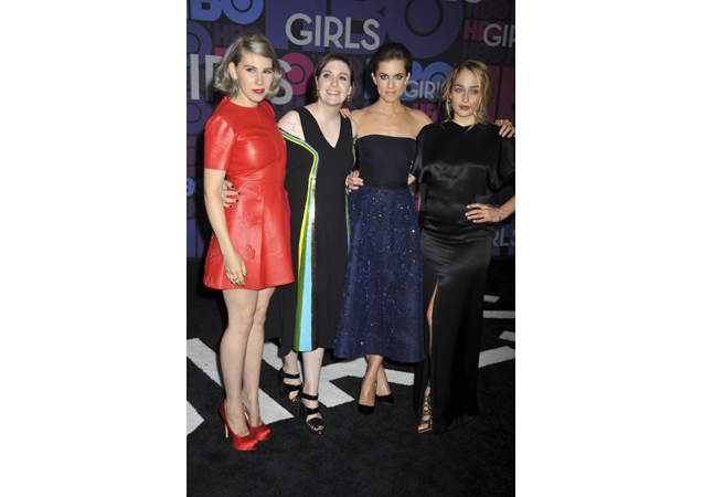 'Girls' Stars Take Over the Black Carpet