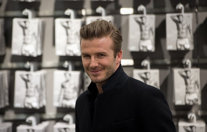 H&M and David Beckham Creating New Wardrobe For Men