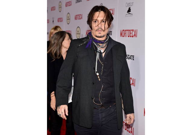 Johnny Depp Fails in Mortdecai, But Wins With Personal Style