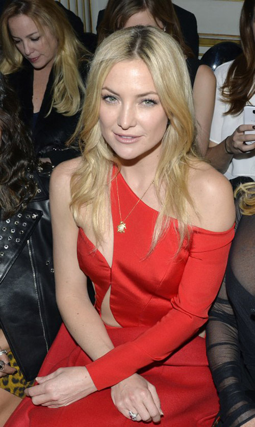 Kate Hudson Shows Skin in Another Versace Jaw-Dropper