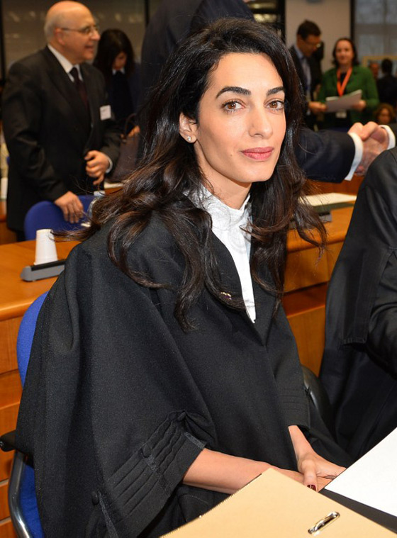 Amal Clooney Takes Fashion to Court