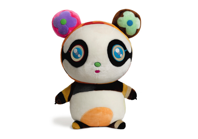 Takashi Murakami, Limited Edition 'Petit Panda'. Mixed media, made in 2009 in collaboration with Louis Vuitton. Realized US$24k. Image courtesy Sotheby's.