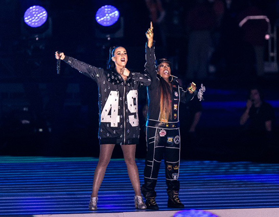 Katy Perry's Halftime Show Turned Runway for Jeremy Scott