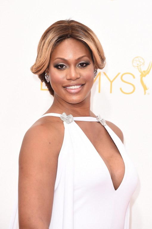Laverne Cox for Versace! Super Women are Spring's New Supermodels