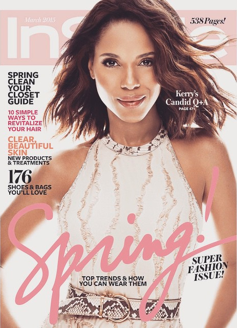 InStyle Makes A Scandal-ous Blunder On Kerry Washington's Cover Photo
