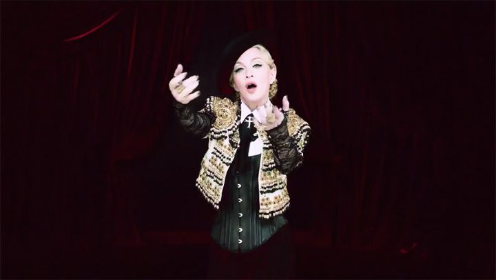 Madonna Unleashes Naughty New Video on Snapchat