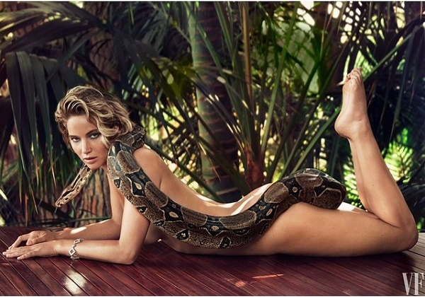 Jennifer Lawrence Strips Down For Vanity Fair
