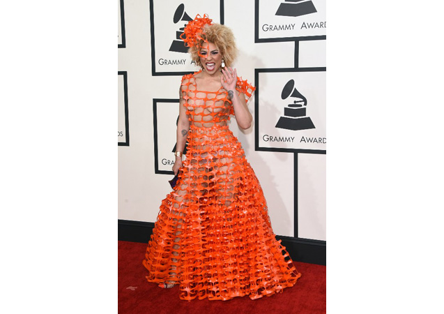 57th Grammy Awards WORST Red Carpet Ever: 20 Worst Dresses of All Time