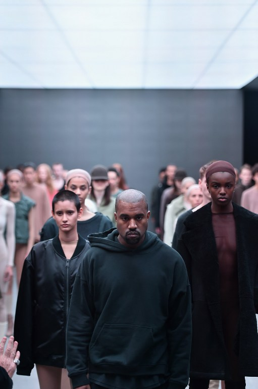 Kanye West Unveils Adidas Collaboration at NYFW
