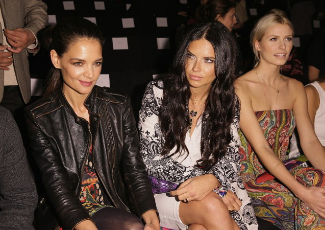 NYFW Day One: Celebrity Sightings in the Front Row