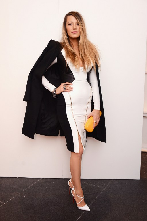 Blake Lively Reveals Post Baby Body at NYFW
