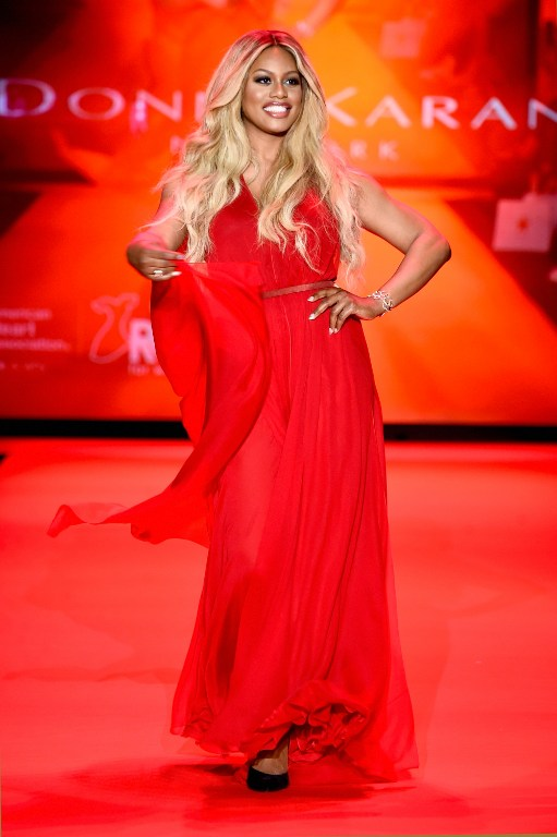 Laverne Cox Rules the Runway at Go Red for Women at NYFW