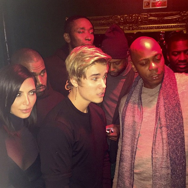 Kim and Kanye's Valentine's Threesome with Justin Bieber