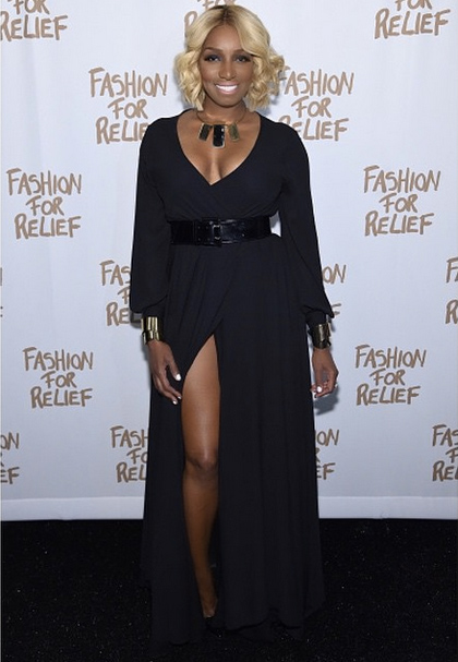 Real Housewives Star NeNe Leakes Struts for Naomi Campbell at NYFW
