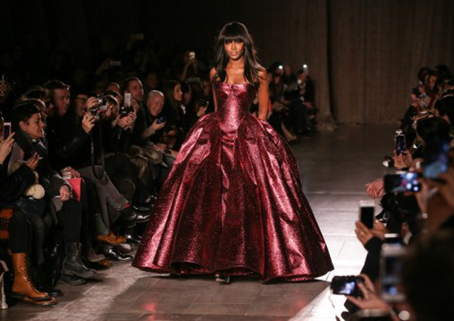 Naomi Campbell Still Ruling the Runways at NYFW