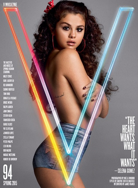 Selena Gomez Takes it Off for V Magazine