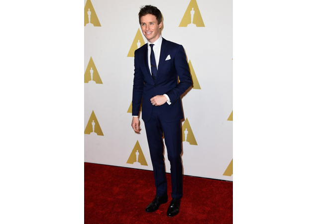 Oscars Countdown: Best Actor Nominees' Red Carpet Style