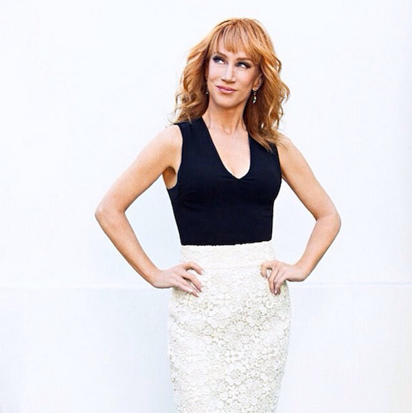 Kathy Griffin Dishes It Out as Joan River's Successor